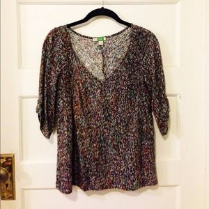 Anthropologie Tops - Patterned blouse from Anthropolgie.