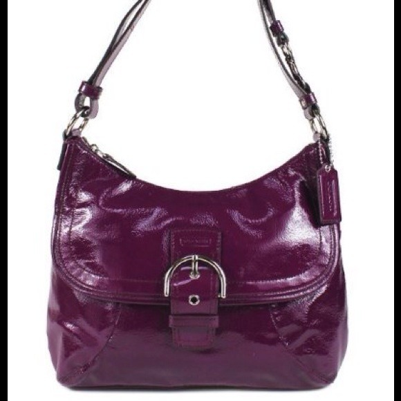 58% off Coach Handbags - Purple leather Coach! from Susan's closet ...