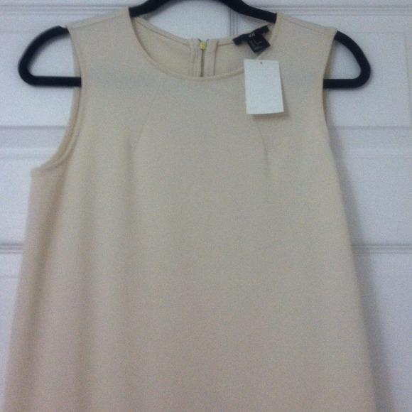 H&M Dresses - H&M cream color dress NWT!