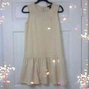 H&M cream color dress NWT!