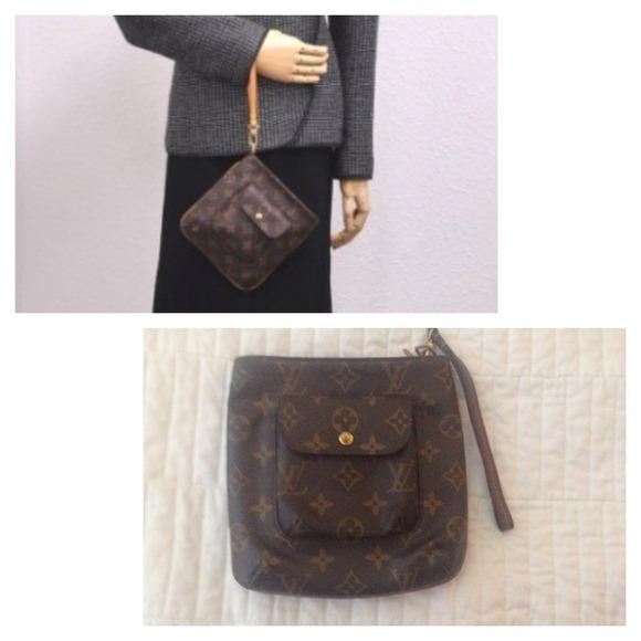 cba1156e45e8 Louis Vuitton Handbags - Authentic LV Monogram Canvas PARTITION Wrist Bag