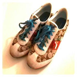 Coach Tennis Shoes 9.5