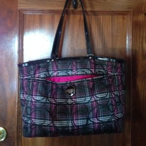 "Coach Handbags - Coach ""diaper"" bag"