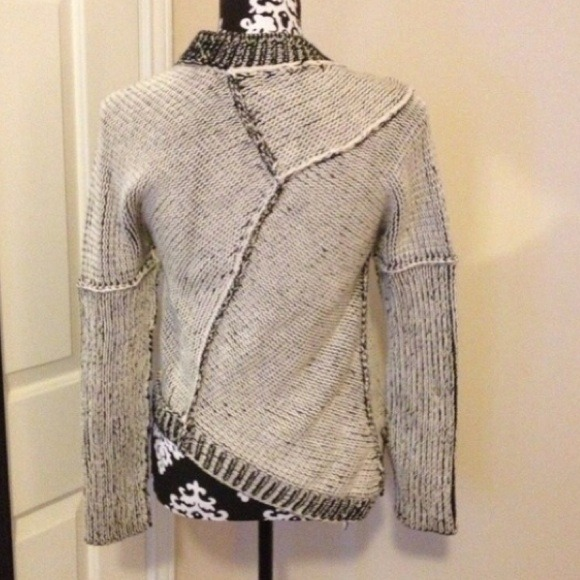 73% off Pure Handknit Sweaters - PURE Handknit Asymmetrical ...