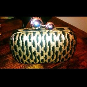 Tiffany sphere DVF CLUTCH