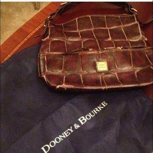 Dooney & Bourke Bags - Dooney & Bourke brown Leather bag