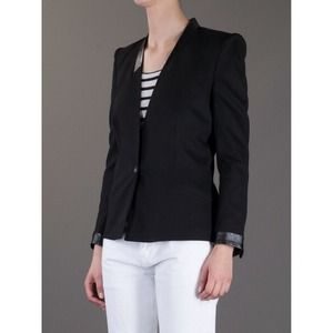 ⚡️HELMUT LANG size 2 black cove suiting blazer⚡️