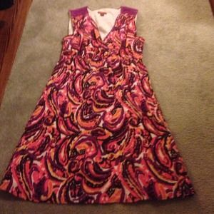 Cotton/Rayon dress - sz L - Merona
