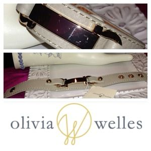 Olivia Welles Leather Bracelet