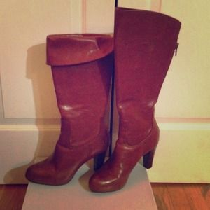 Frye Boots - ⭐HP⭐ Frye Miranda Back Zip Boots Brown Size 10