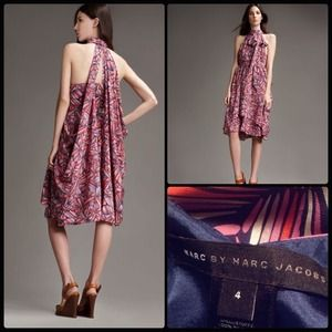 MARC by Marc Jacobs  Arielle Bloom Dress  Silk