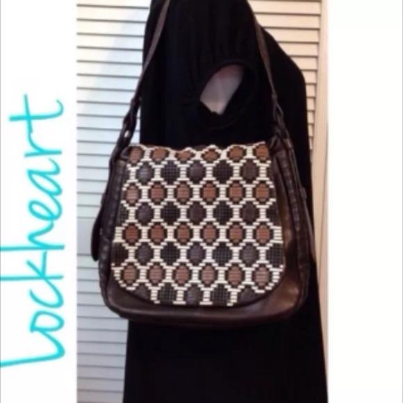 0e7870972fd3 Lockheart Handbags - ☀ DETOX SALE ☀️Lockheart woven saddlebag