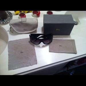 faf005e1933 Christian Dior Shield Sunglasses On Poshmark