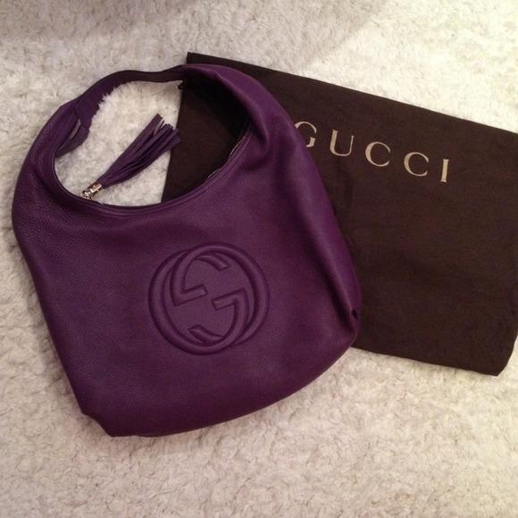 SOLD  Authentic Gucci Soho Hobo Handbag 735e17f180a6b