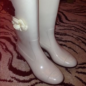 Authentic Chanel Rain Boots!