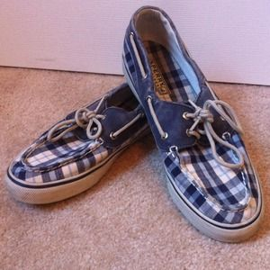 Sperry Top-Sider Canvas Boat Shoe
