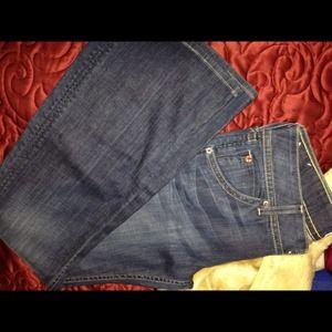 HUDSON Jeans med/dark wash