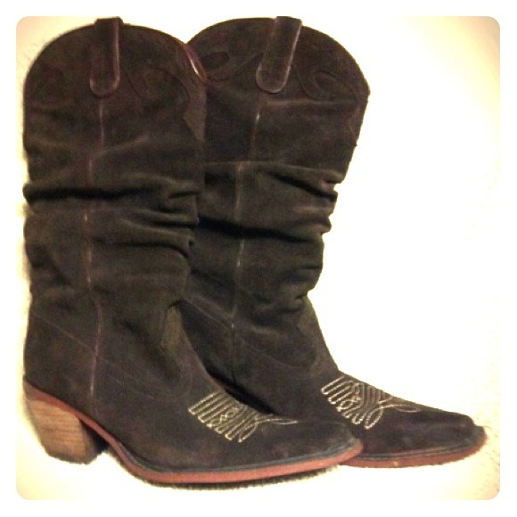 65% off Steve Madden Boots - Steve Madden Suede Cowboy boots from ...