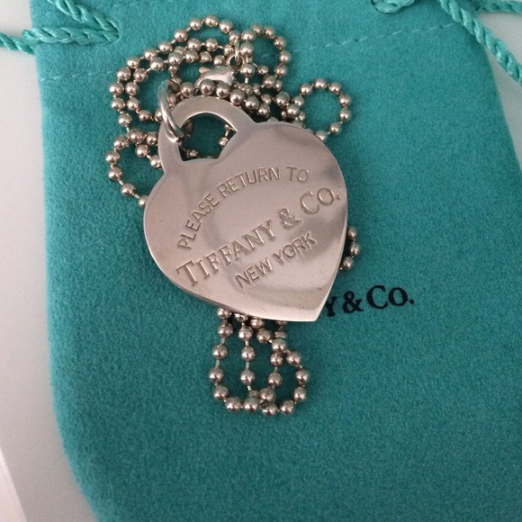 Tiffany & Co. Jewelry - FINAL PRICE Tiffany & Co XLarge Heart Tag Pendent 2