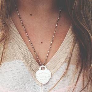 Tiffany & Co. Jewelry - FINAL PRICE Tiffany & Co XLarge Heart Tag Pendent