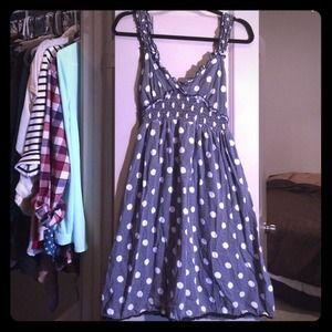 Dresses & Skirts - Polka dot black and white dress