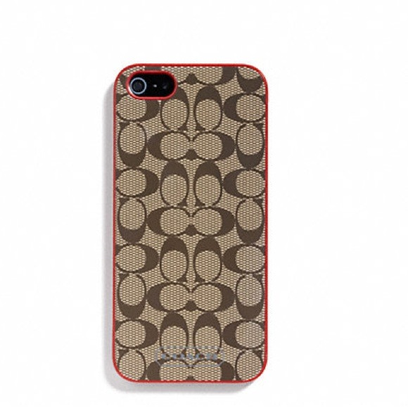 Coach Iphone C Case