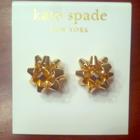 Kate Spade INSPIRED Bourgeois Bow stud earrings OS from Teri's ...