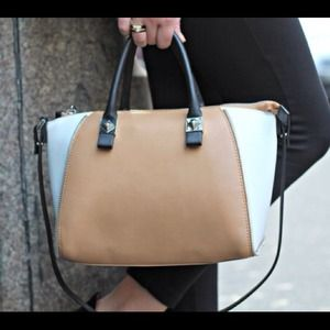 Zara Handbags - SOLD Zara Colorblocked Satchel