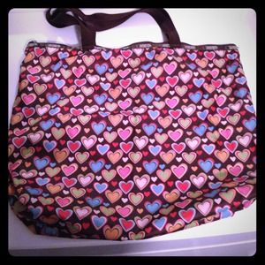LESPORTSAC ZIPPERED TOTE