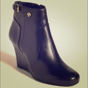 Tory Burch Wedge Bootie-NEW-