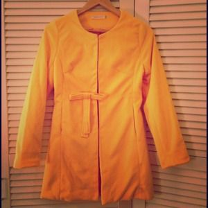 Shu Yan Jackets & Blazers - 🎉2X HOST PICK🎉 Bright Yellow Jacket