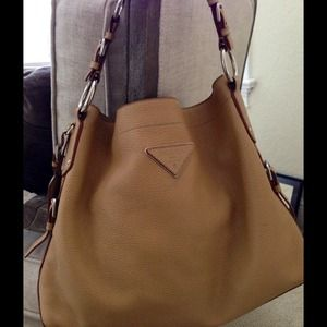 Stunning Prada leather bag