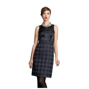 Banana Republic Dresses & Skirts - 2XHP🎉Mad Men x Banana Blue Houndstooth Tank Dress