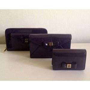 Tory Burch Bow Collection in Tribe Violet