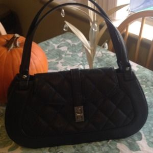 CHANEL Black Caviar Reissue Satchel Handbag