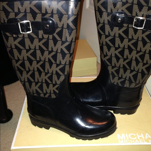 47% off Michael Kors Shoes - Michael Kors Rain boots from Shop's ...