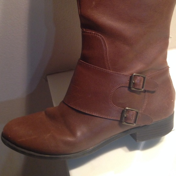 45% off Target Boots - Target Wide Calf Camel Riding Boots Size 11 ...