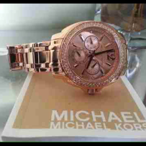 Rose Gold Watch Michael Kors Nordstrom Michael Kors Rose Gold Watch