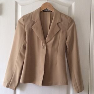 Blazer/Jacket Beige color.