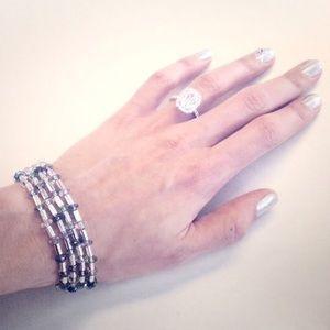 macy's Jewelry - Cascading Pastel Bead Bracelet