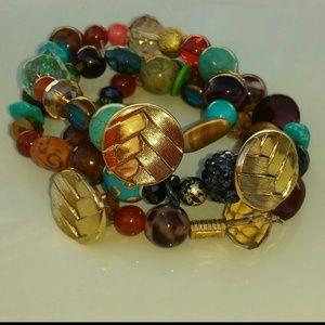 Bracelet set((now reduced half off))