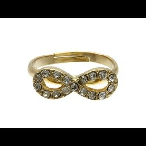Kristee P Jewelry - Gold Colored Infinity Knuckle Ring