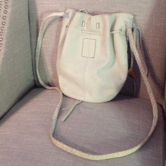 Lucky Brand Handbags - ⚡️Lucky Brand Off White Leather Crossbody 2