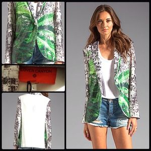 CLOVER CANYON 🍀 How High? Sequined Jacket NWT
