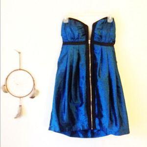 FLASH SALE!Blue metallic dress by Aqua