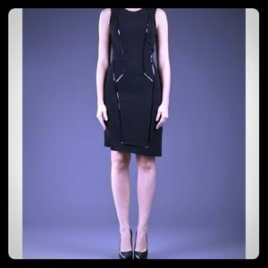 *HOST PICK* Helmut Lang dress w patent piping