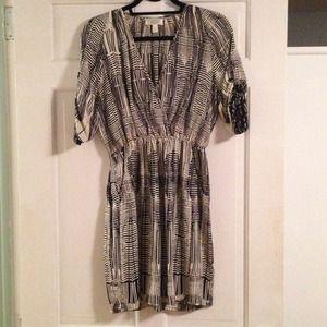Easy to wear Haven B&W dress!