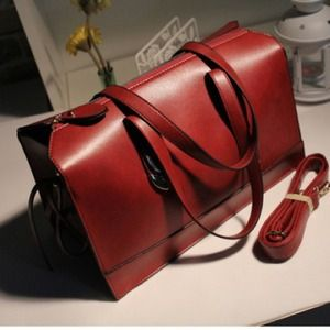 Handbags - Crimson shoulder bag