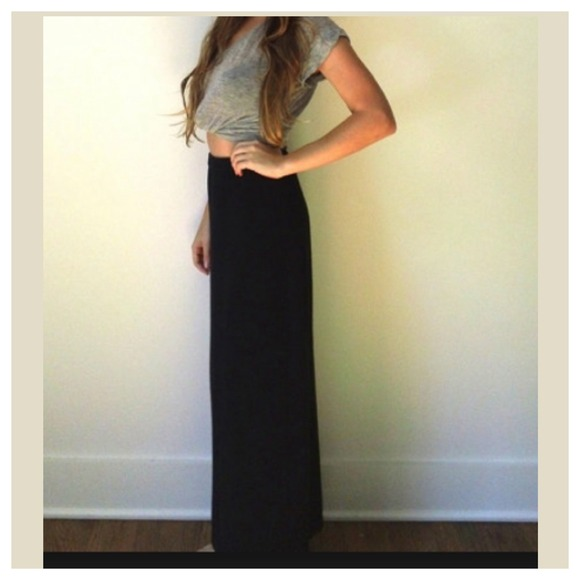 Straight Maxi Skirt - Dress Ala