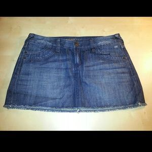 FREE when bundled!! Express Jeans Mini Skirt